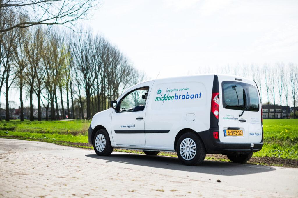 bedrijfsauto van Ongediertebestrijding Midden-Brabant